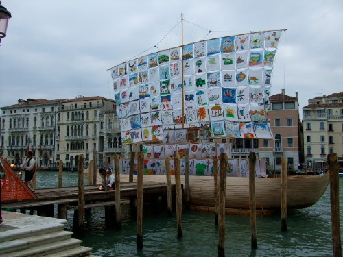 The Ship of Tolerance at the 2009 Venice Biennale (Image courtesy of the artists)