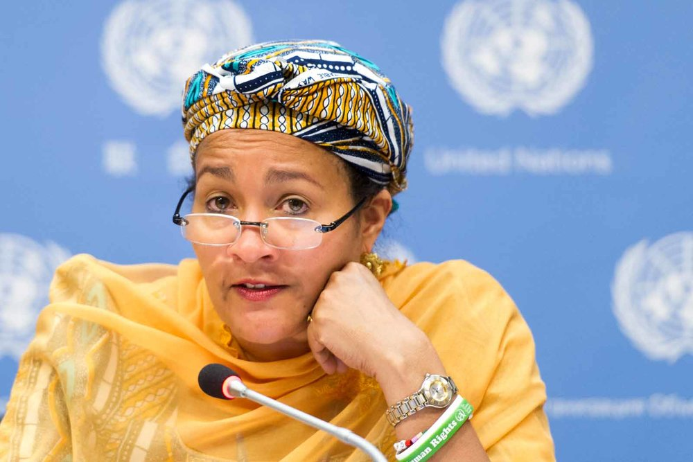 AMINA J. MOHAMMED | UN PHOTO/MARK GARTEN