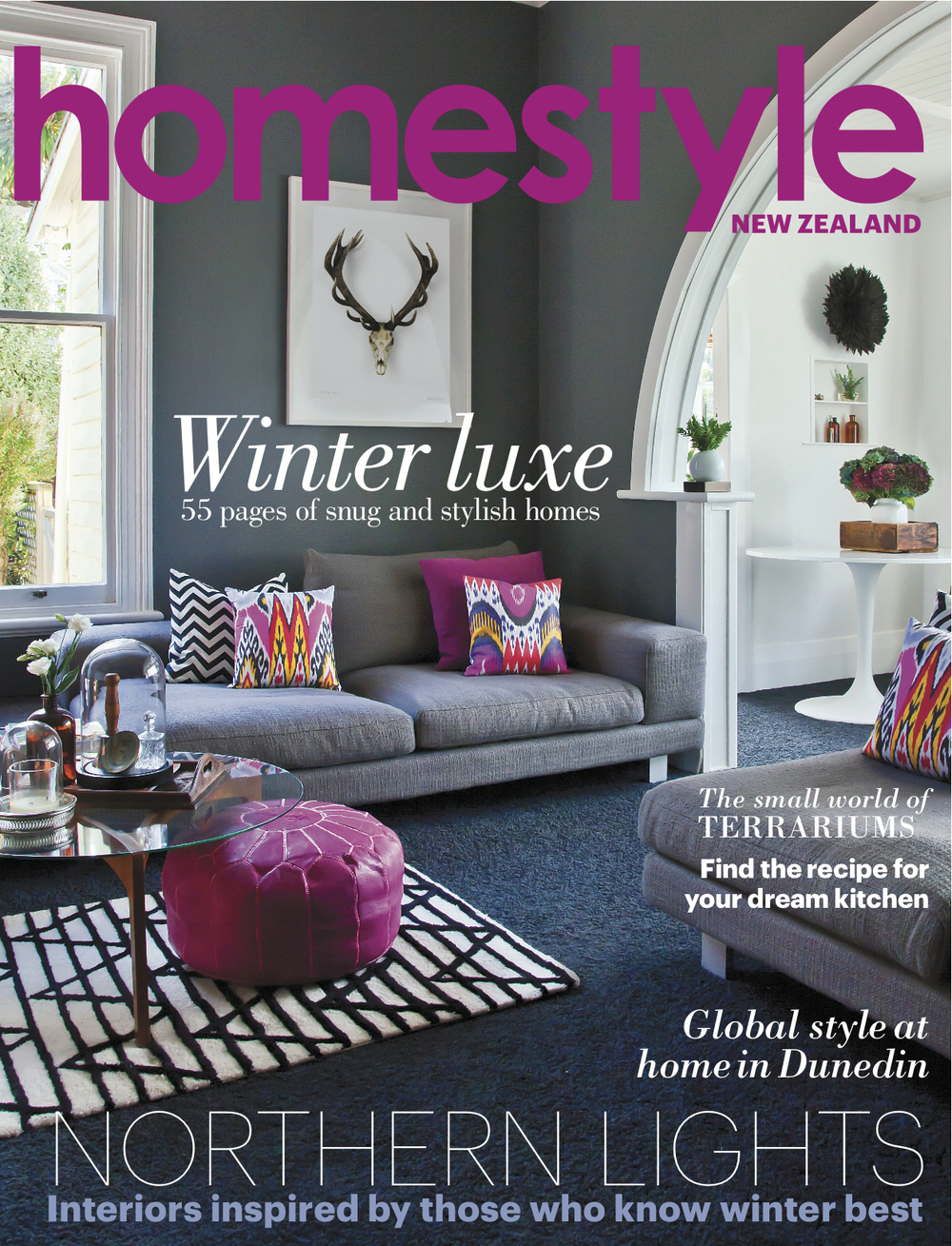 Homestyle Magazine Cover + feature Photography