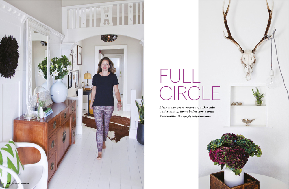 Homestyle Magazine feature Photography