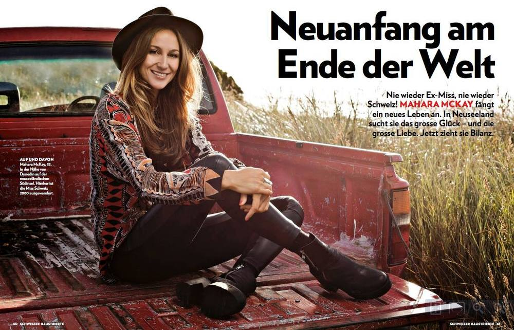 Schweizer Illustrierte feature Photography