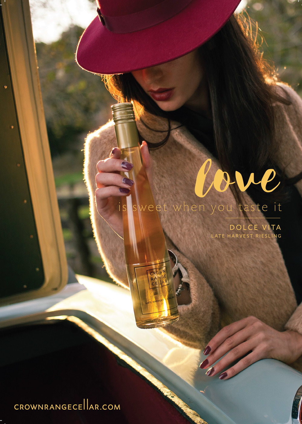 Crown Range Cellar Dolce Vita Campaign Photography and Art Direction