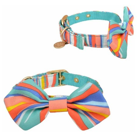 Oh Joy! Collar With Bowtie Pet Collar $5.99