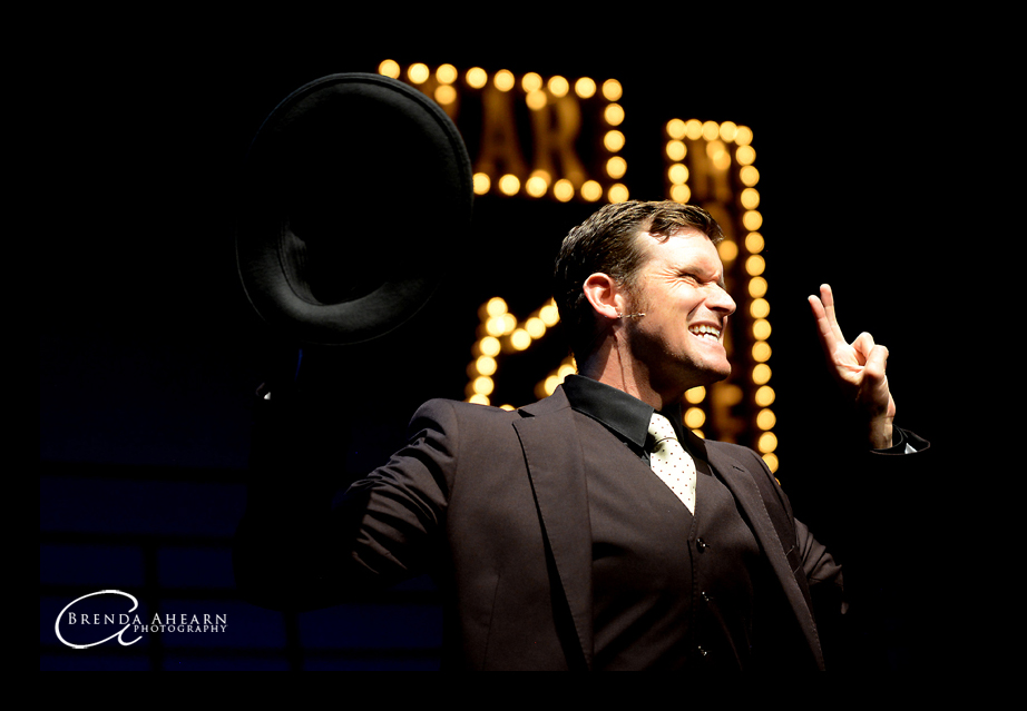 Kevin Vortmann in Guys & Dolls this summer Photo by Brenda Ahearn