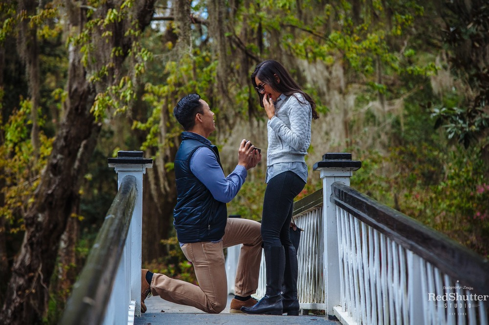 Marriage proposal: Jenn and Ryan - Magnolia Plantation and Gardens, Charleston, SC [ Slideshow ]