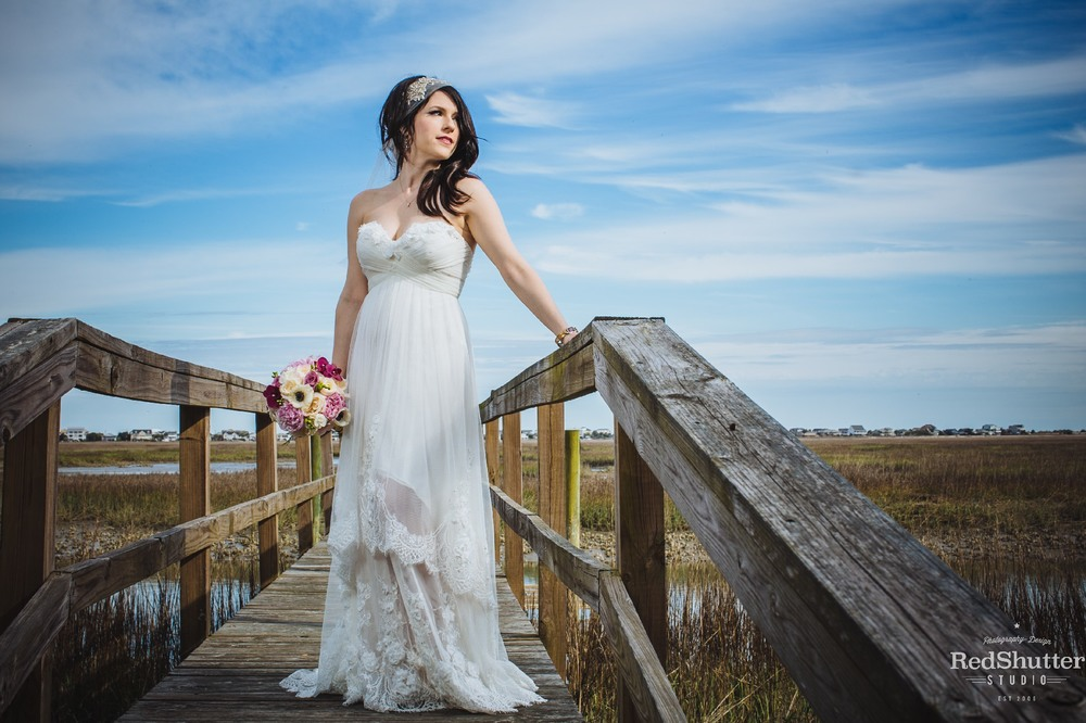 Bridal Portraits: Myers - Pawleys Island, SC [Slideshow]