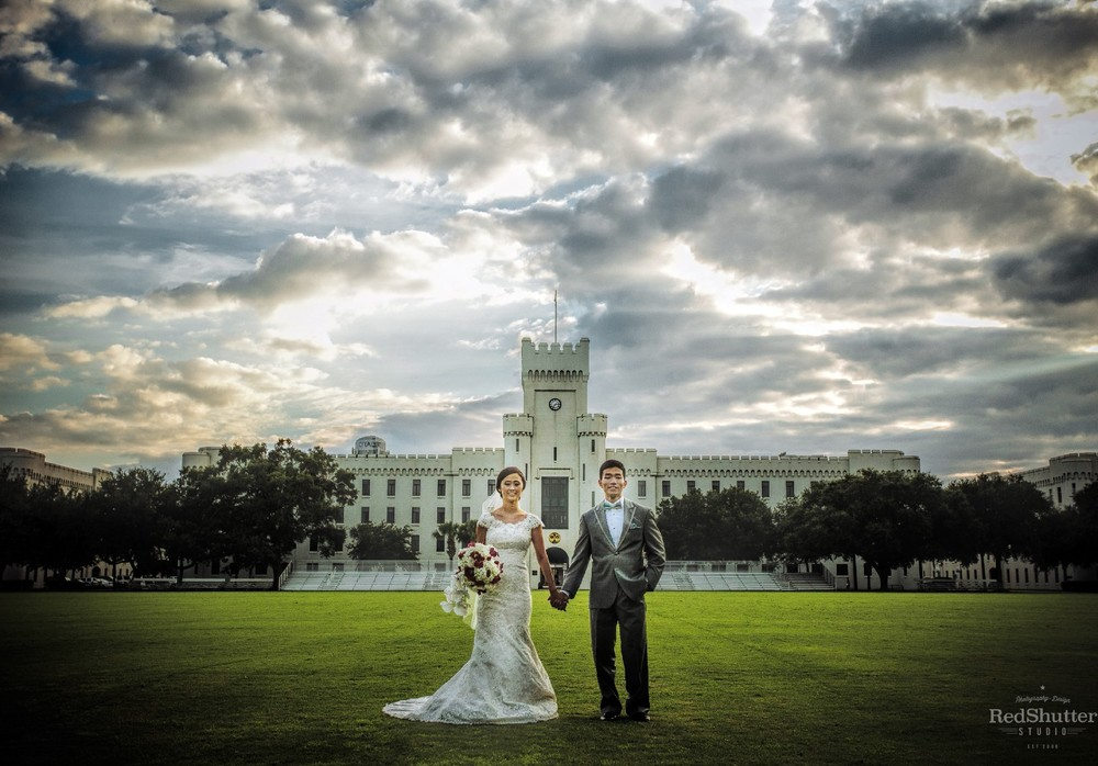 Wedding: Rena and David - Summerall Chapel at The Citadel, Charleston, SC [Slideshow]