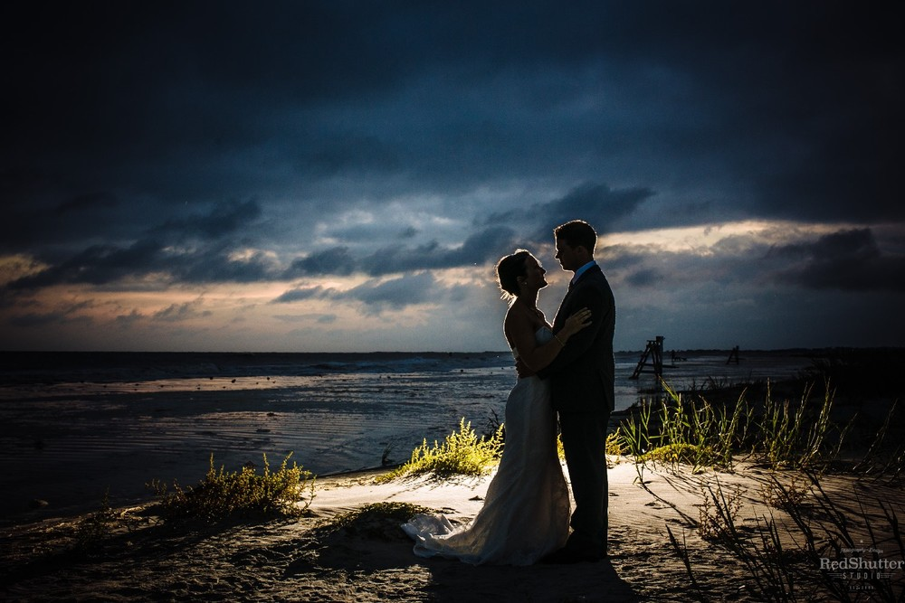 Wedding Reception: Brittany and Jimmy - Pelican Watch Shelter at Folly Beach, SC [Slideshow]
