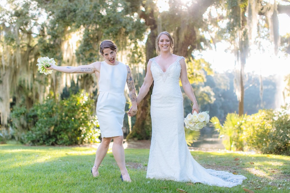 Wedding: Sara and Amy - The Legare Waring House, Charleston, SC [Slideshow]