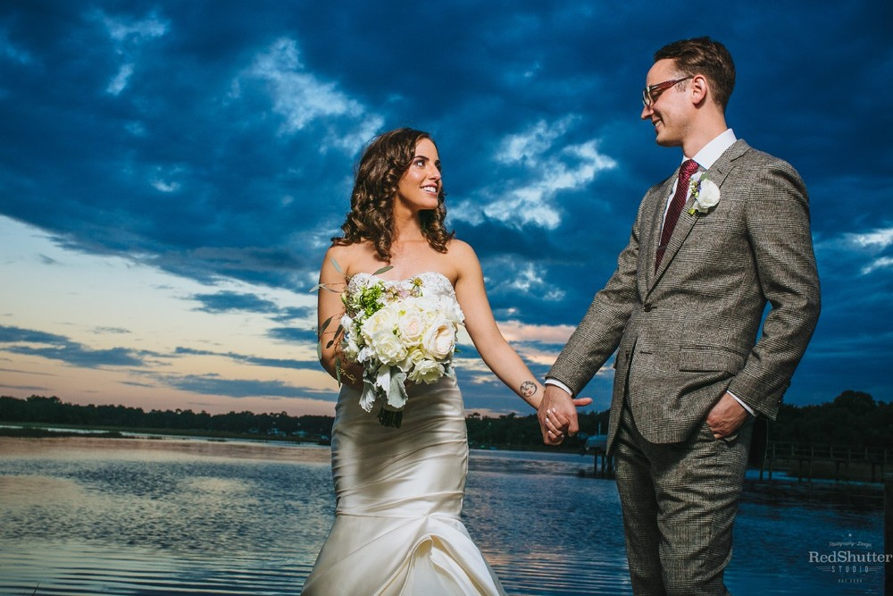 Wedding: Christina and Zach -  Cotton Dock  at Boone Hall Plantation, Mt. Pleasant, SC [ Slideshow ]