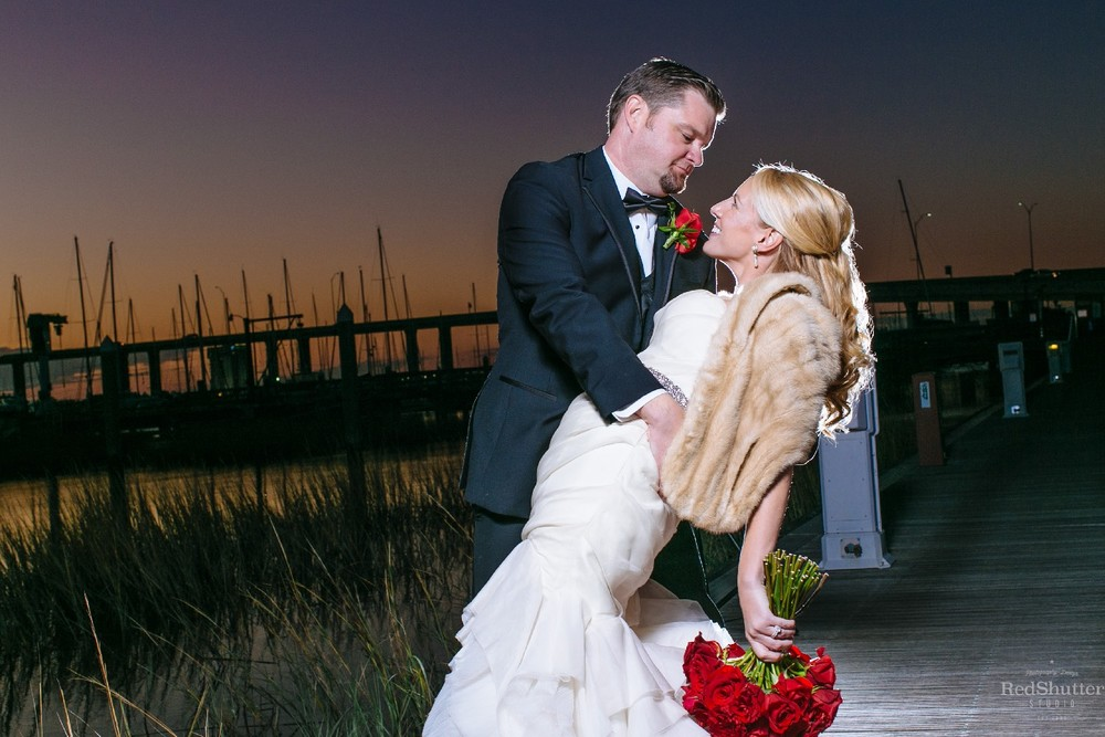 Wedding: Tonya and Chris - Historic Rice Mill Building, Charleston, SC [ Slideshow ]