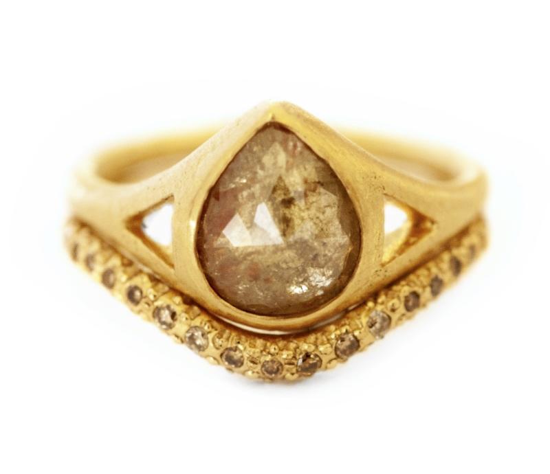 'Indus Summer' Diamond Ring