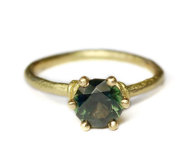 'Viridis' Sapphire Ring