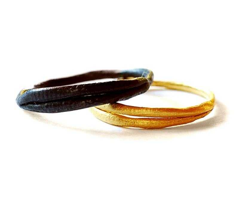 Double Band Rings