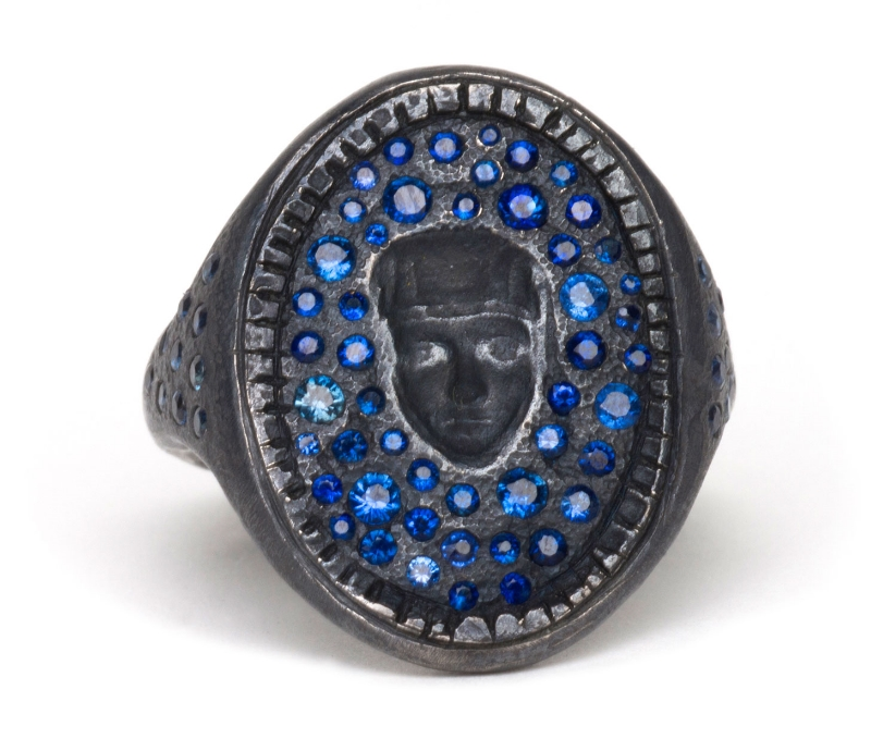 'St Catherine' Signet Ring from 'Superstitions & Apparitions' Series