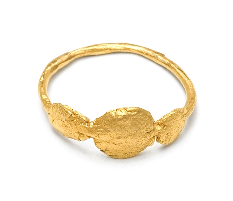 '3 Circle' Signet Ring