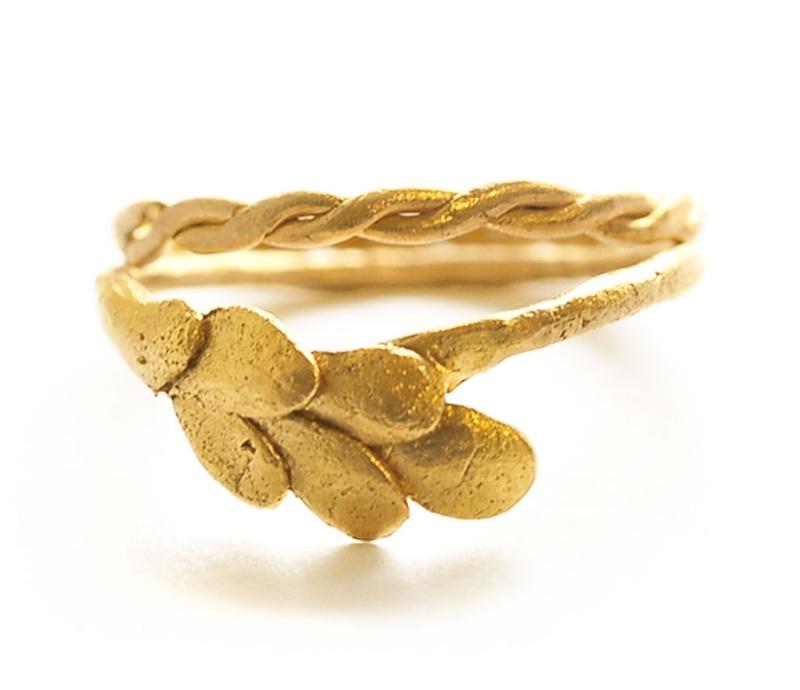 'Wheat Sheaf' & 'Plait' Ring