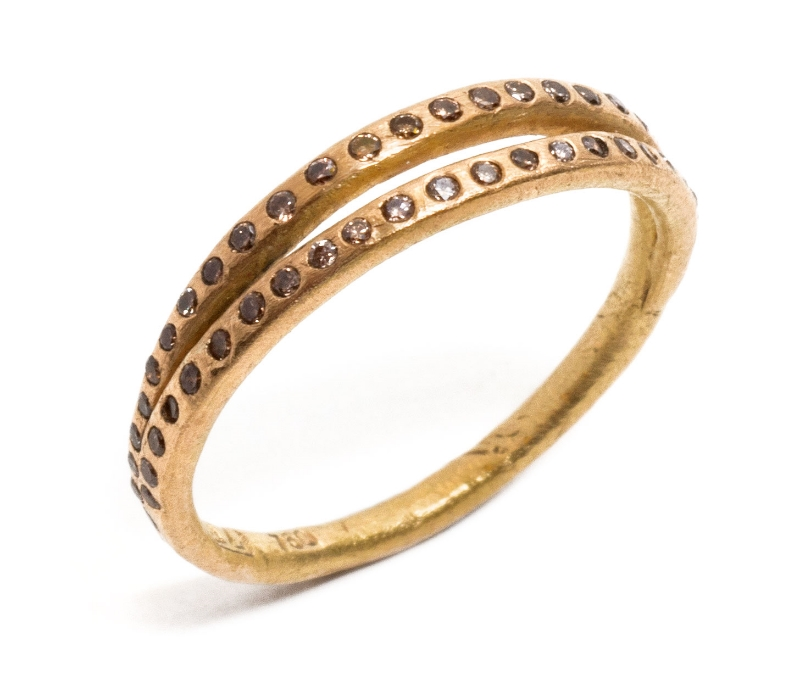 'Love me two times' Ring