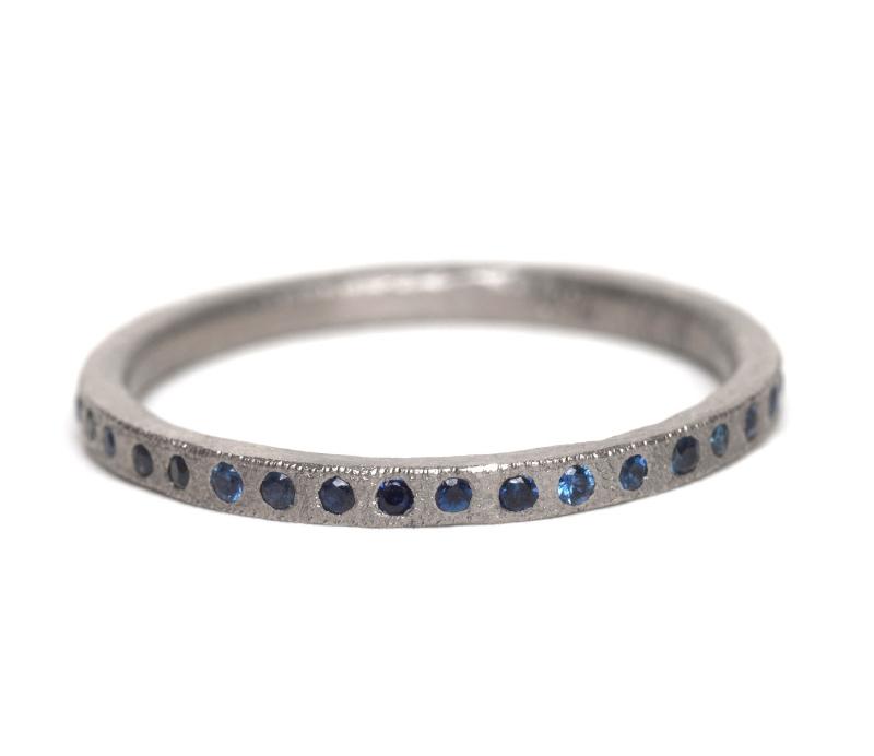 Blue 'Eternal Love' Ring