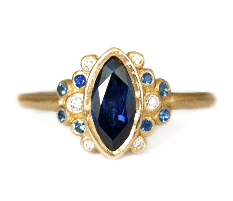 'A Marquise for Madame de Pompadour' Ring