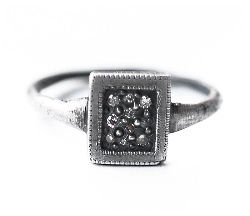 'Tych 2' Signet Ring