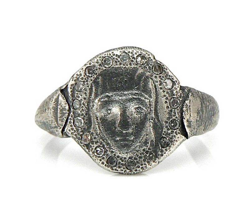 'St Catherine' Signet Ring from 'Apparitions & Superstitions' Series