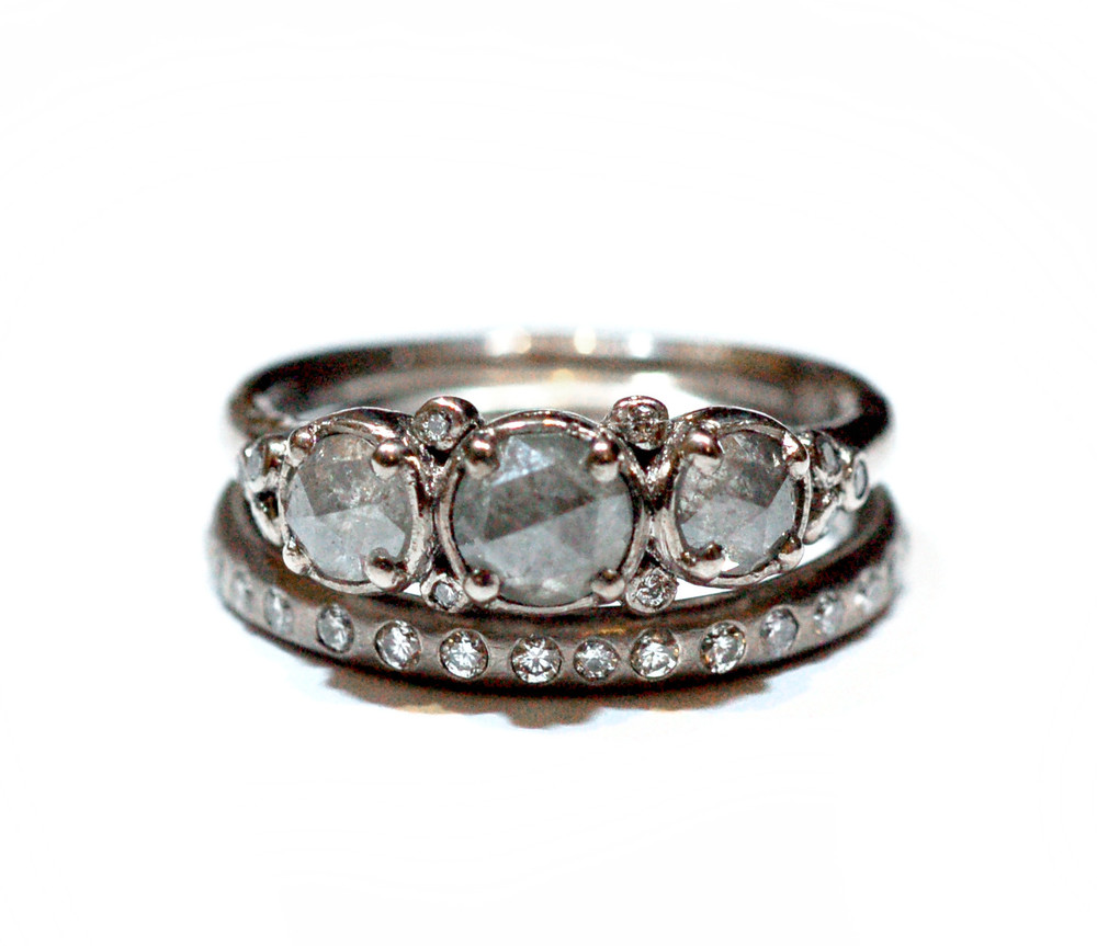'Arctic Ice' Ring