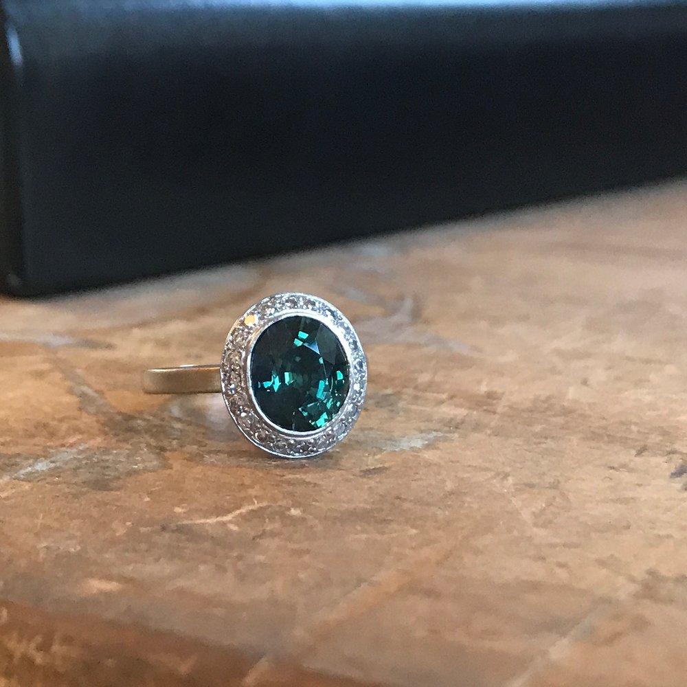 Tanzanian Sapphire Ring