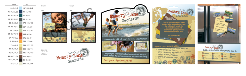 Memory Lane - Logo, Brand, Stamps, Product Displays & More