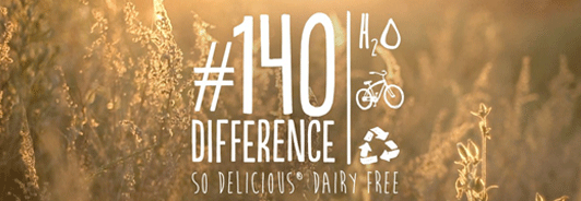 #140Difference Social Media Campaign for  So Delicious Dairy Free