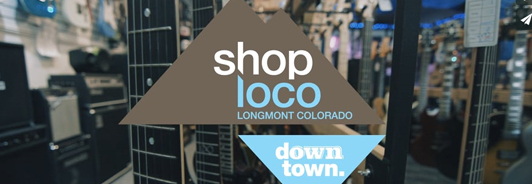 Longmont Downtown Creative District Shop Loco Video Campaign