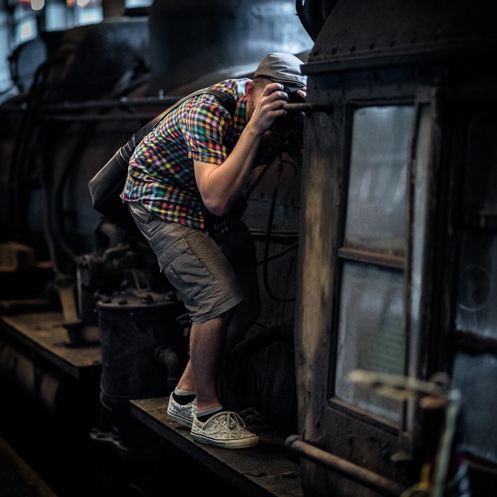 Mainline Steam, abandoned steam train depot (Parnell, New Zealand)