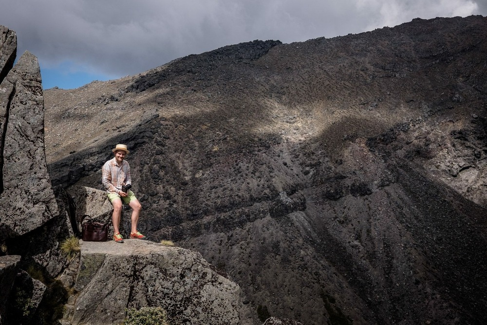 World heritage site (Tongariro National Park, New Zealand)