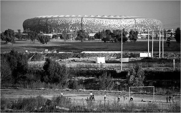Soccer City image BW.jpg