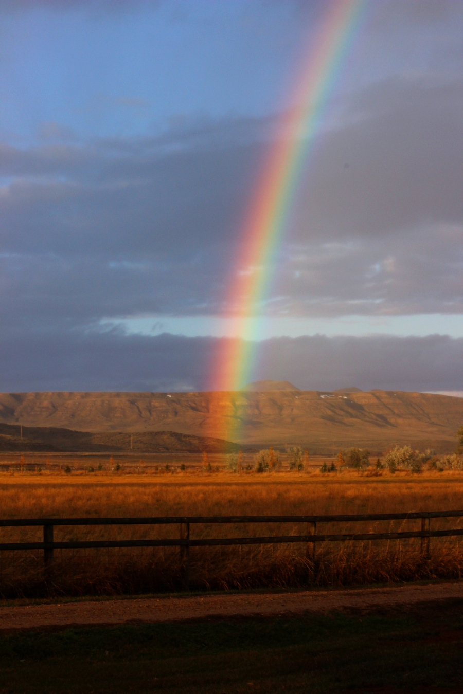 Rainbow, Ucross, Wyoming