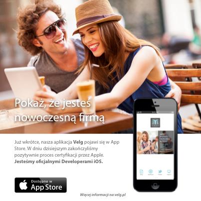 Velg | Oficjalny Developer Apple | Tworzymy dedykowane aplikacje dla firm na iPhone i iPad