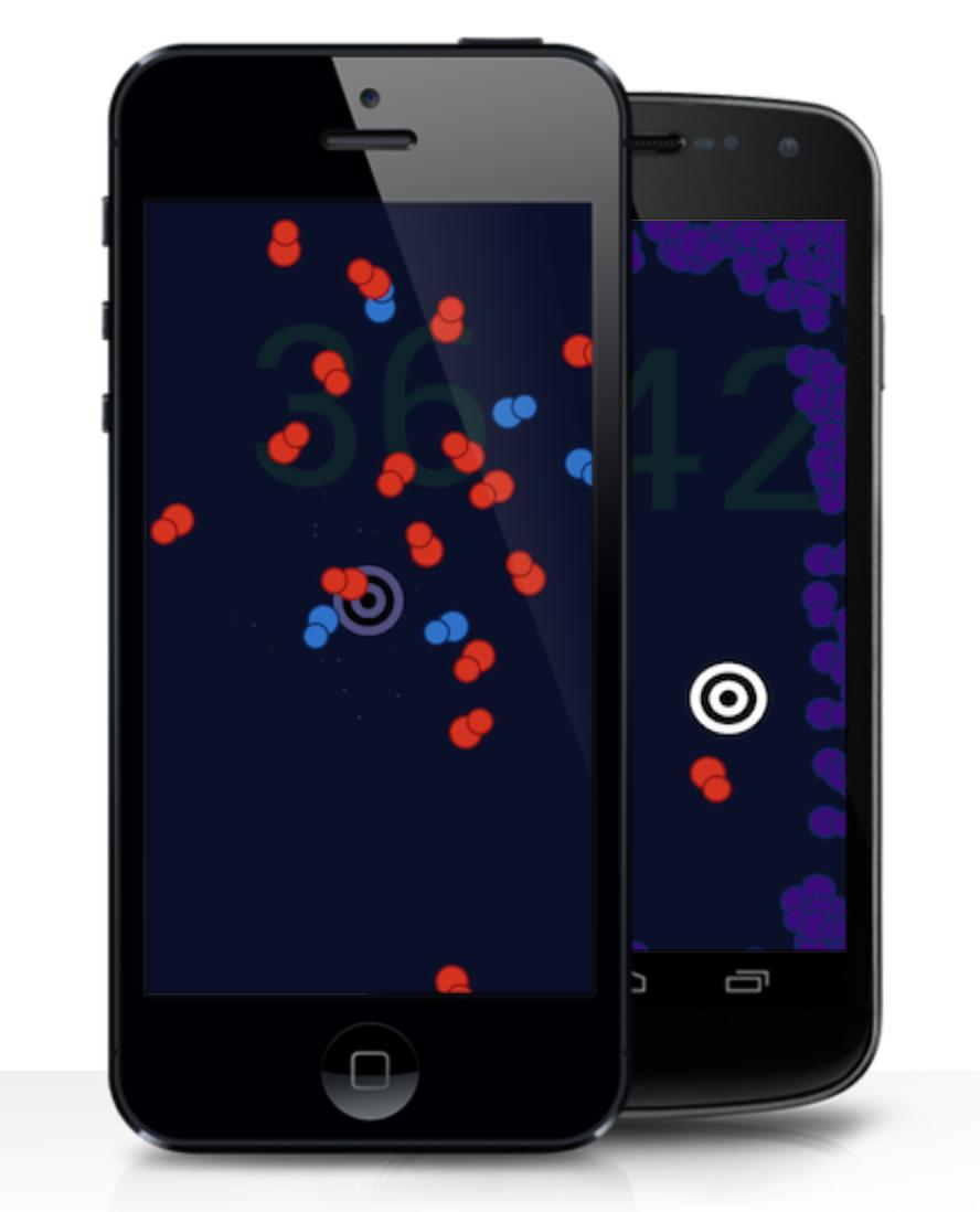 Jeu mobile Smatter   Jeu mobile écrit en Lua avec la plateforme Corona.