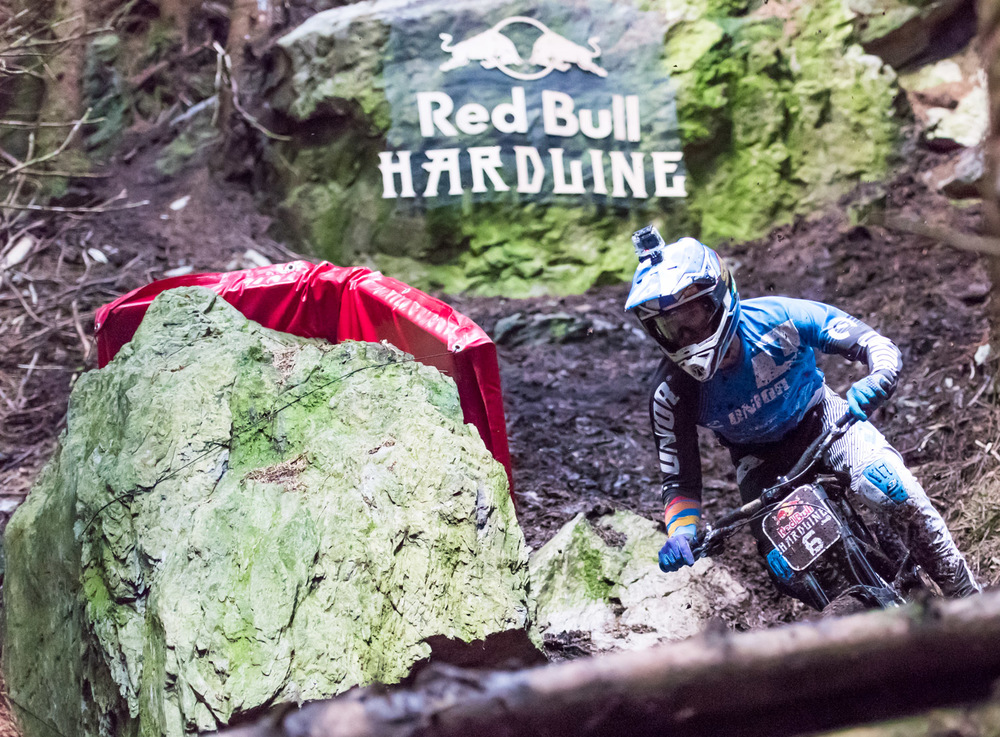 Red Bull Hardline 2015 Winner Ruaridh Cunningham at The Slab