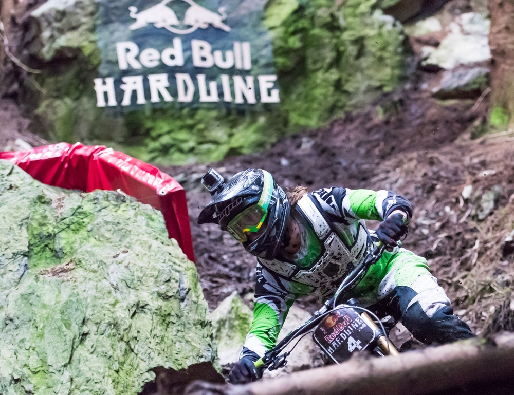 Craig Evans at The Slab -Red Bull Hardline 2015