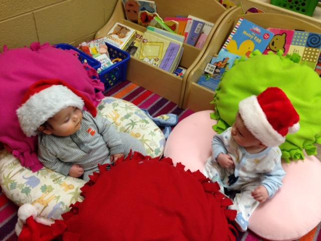 Ezra & Everett Santas.JPG