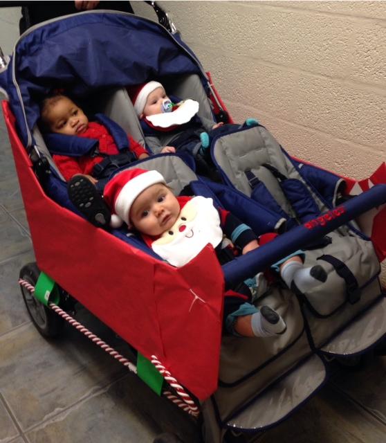 babies in sleigh.JPG