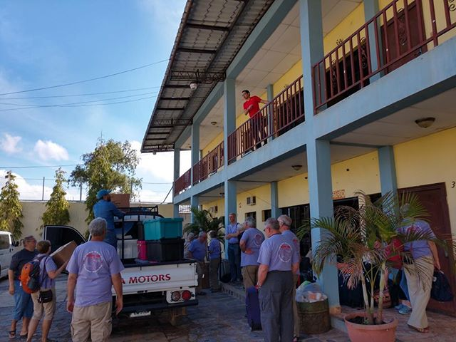 Prayers for safe travels as our Honduras mission team begins their long trip home.