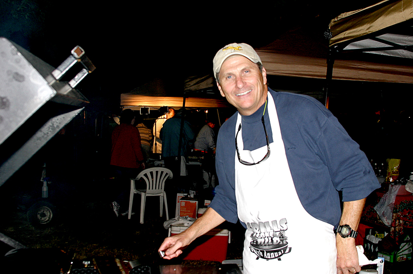 Dr. Scott grilling for the Animal Care Center.JPG