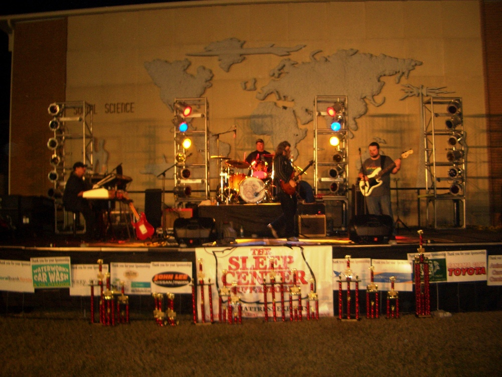 The band front and center.JPG