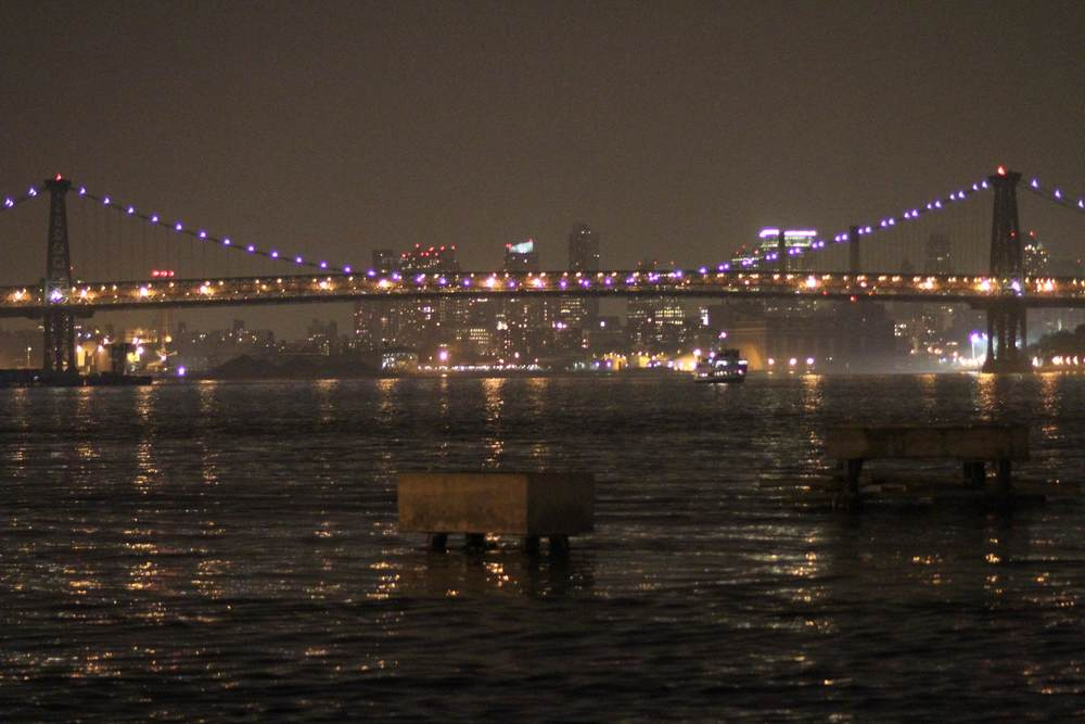 The East River,3am.