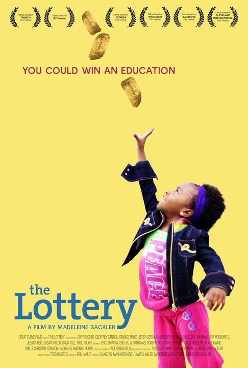 "The poster for ""The Lottery"""