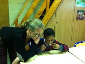 Sarah offers OREO feedback to this young developing author in the midst of spinning a marvelous fantasy adventure.