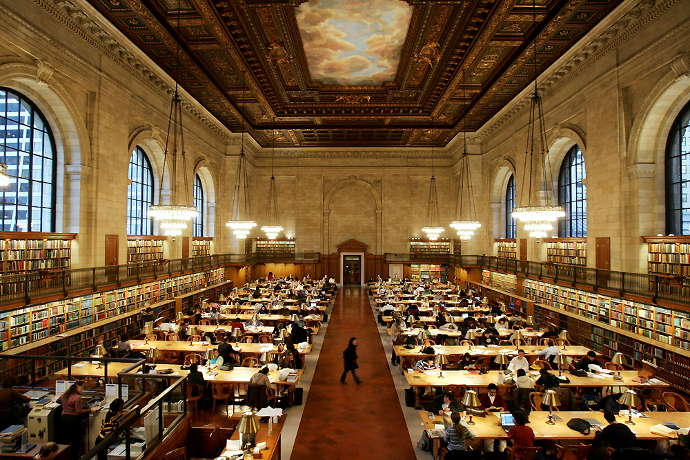 NYPL: My favorite place to study in the whole wide world!