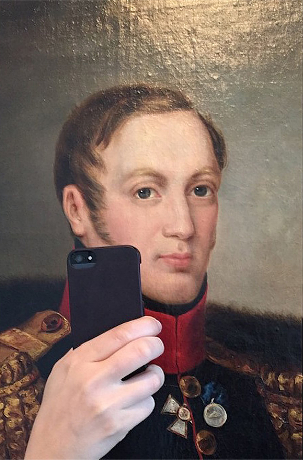 BIG THANKS to Olivia Muus, Danish marketer and designer, for her fabulous photos of historical figures taking selfies. What a great way to #TurnHistoryOn!