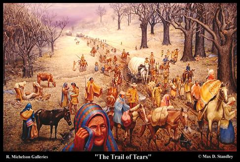 Andrew Jackson, Trail of Tears